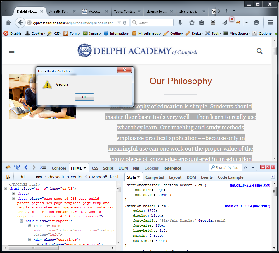 Firefox Sample